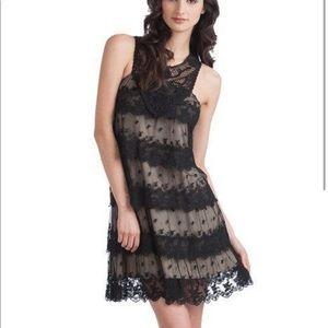 NWT Rancho Estancia Black Layered Dress